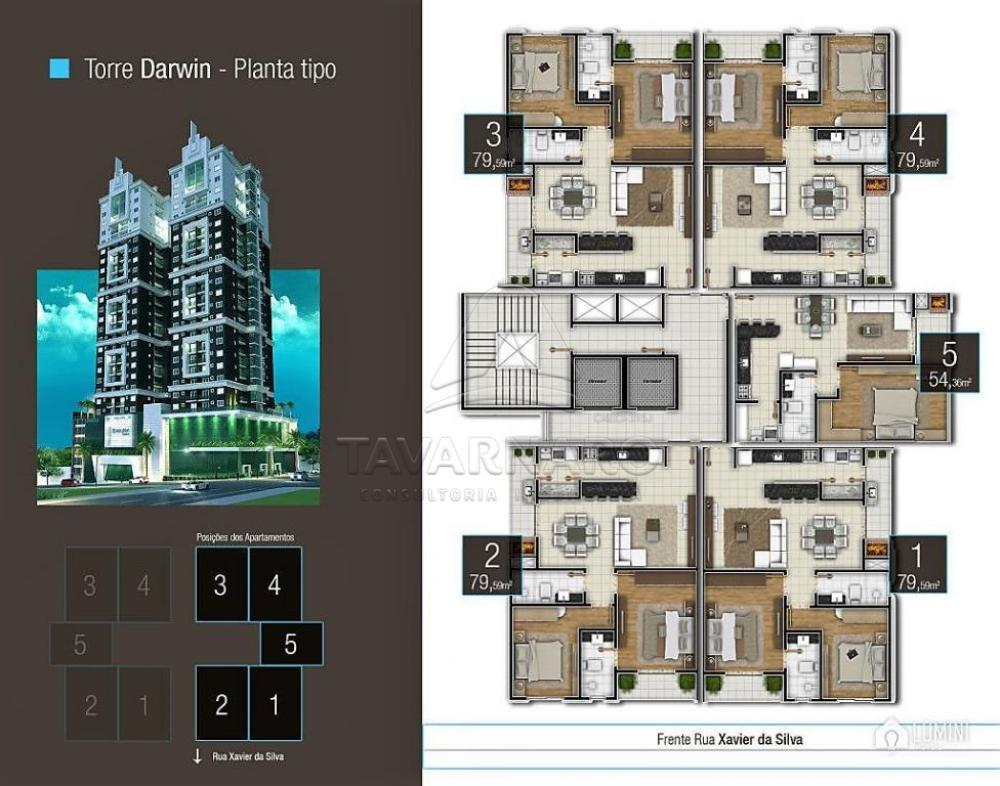 Comprar Apartamento / Padrão em Ponta Grossa apenas R$ 400.000,00 - Foto 3