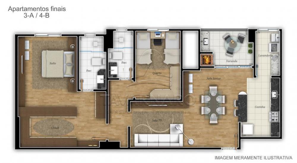 Alugar Apartamento / Padrão em Ponta Grossa apenas R$ 2.000,00 - Foto 6