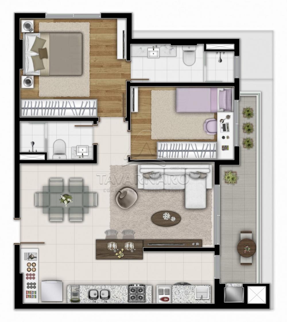 Comprar Apartamento / Padrão em Ponta Grossa R$ 422.975,00 - Foto 3