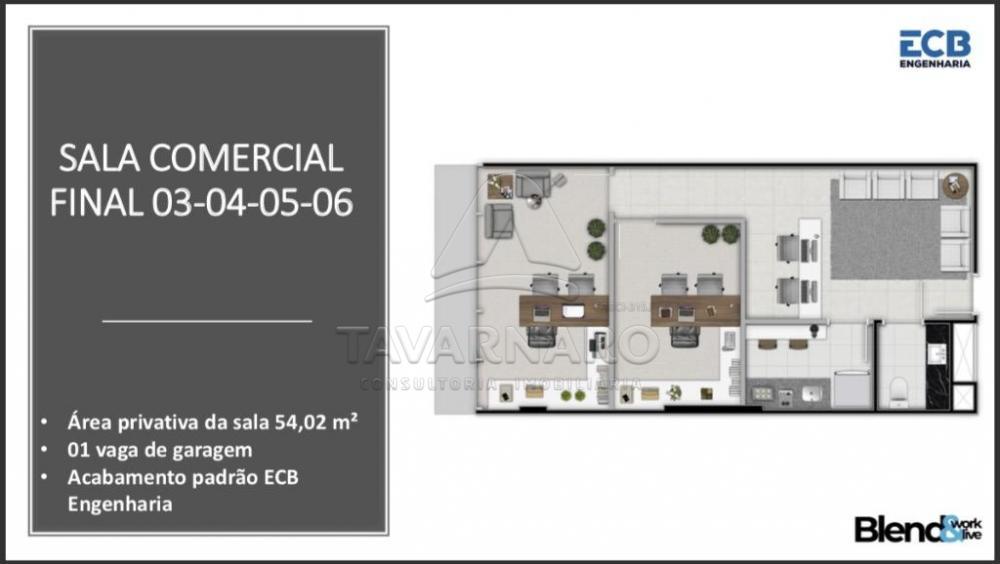 Comprar Comercial / Sala Condomínio em Ponta Grossa apenas R$ 304.851,43 - Foto 2