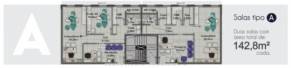 Comprar Comercial / Sala Condomínio em Ponta Grossa apenas R$ 351.700,16 - Foto 1