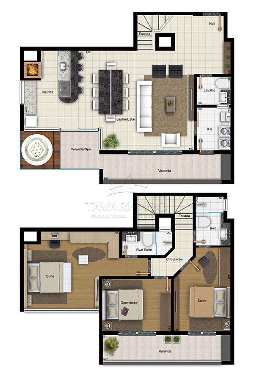 Comprar Apartamento / Duplex em Ponta Grossa apenas R$ 780.000,00 - Foto 12