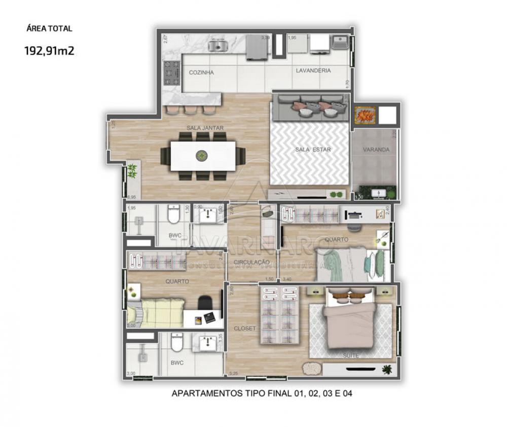 Comprar Apartamento / Padrão em Ponta Grossa R$ 550.896,69 - Foto 2