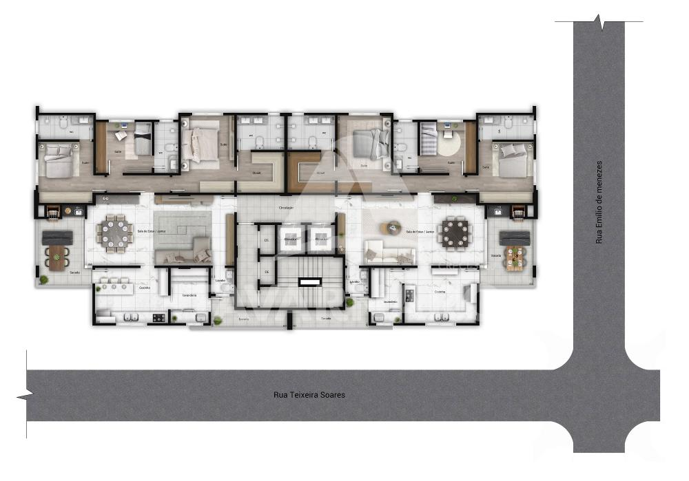 Comprar Apartamento / Padrão em Ponta Grossa R$ 730.000,00 - Foto 1