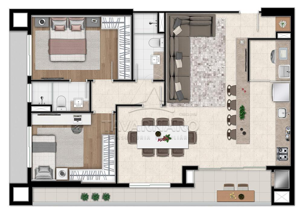 Comprar Apartamento / Padrão em Ponta Grossa apenas R$ 301.394,39 - Foto 6