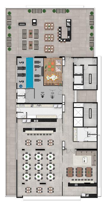 Comprar Comercial / Sala Condomínio em Ponta Grossa R$ 332.288,06 - Foto 5
