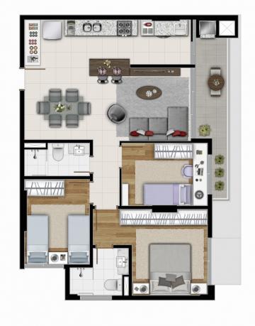 Comprar Apartamento / Padrão em Ponta Grossa R$ 425.000,00 - Foto 14