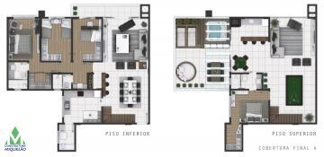 Apartamento / Duplex em Ponta Grossa , Comprar por R$1.263.000,00