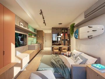 Alugar Apartamento / Studio em Florianópolis. apenas R$ 389.431,07