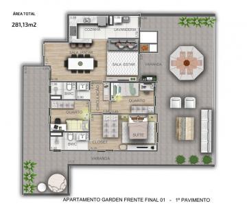 Apartamento / Padrão em Ponta Grossa , Comprar por R$557.785,36